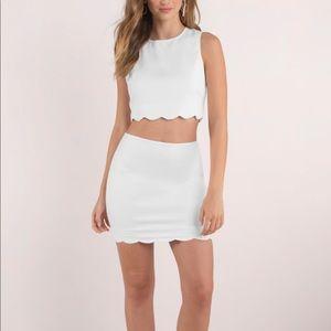 Tobi two piece dress small